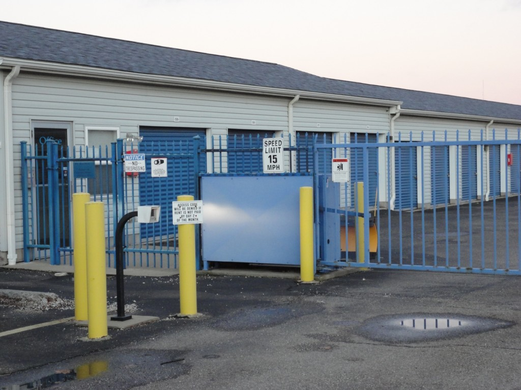 We Feature a Secure Gate and Keypad Access